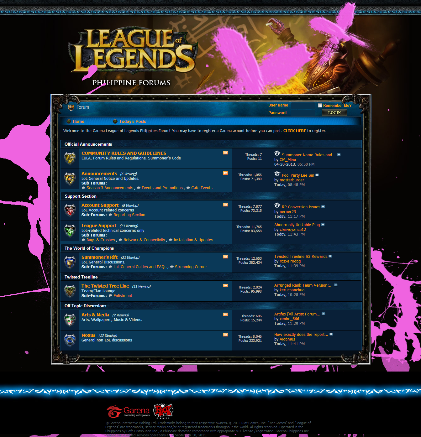Forum - League of Legends - Philippines Forums