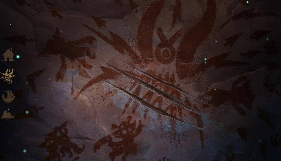 O Vilarejo foi atacado por alguma criatura!