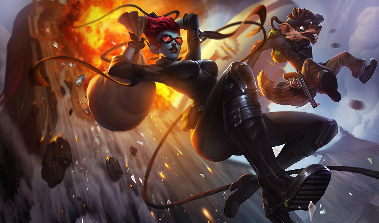 Pickpocket Twitch, Safecracker Evelynn