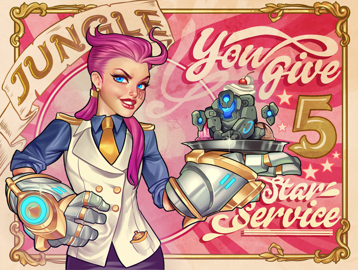 Cartões de Dia dos Namorados com Tema League of Legends - 6