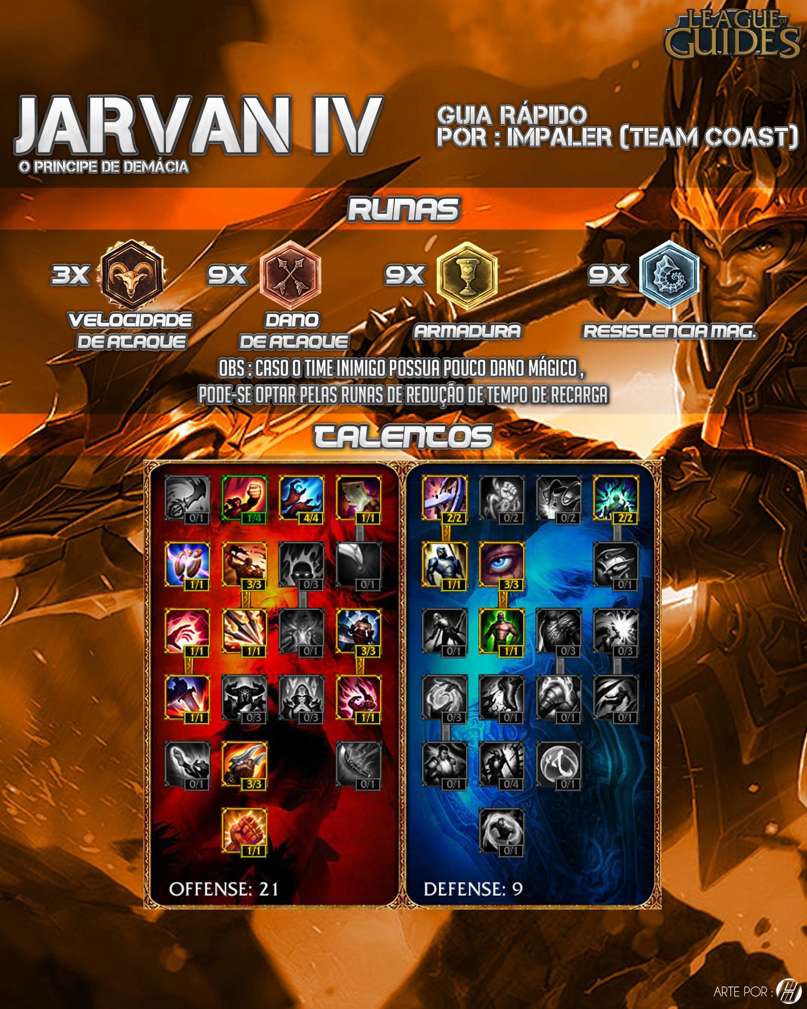 Guia - Jarvan IV