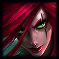Nova Splash Art da Katarina-1