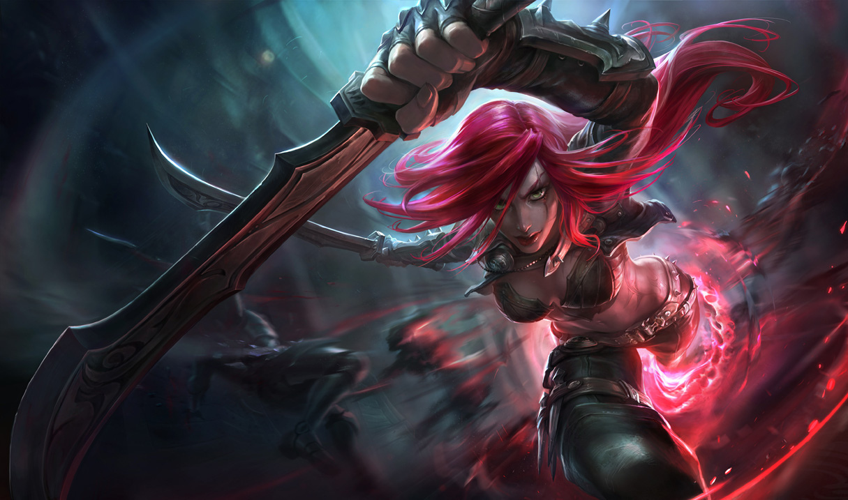 Nova Splash Art da Katarina