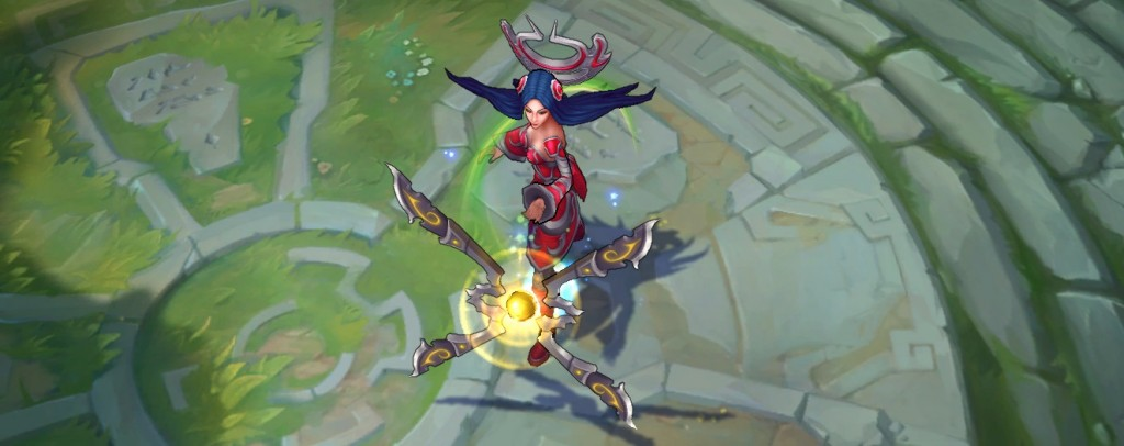 Bug Visual Corrigido na Irelia