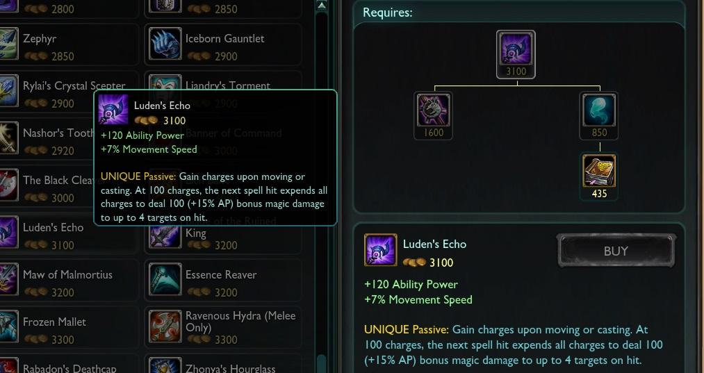 Luden's Echo