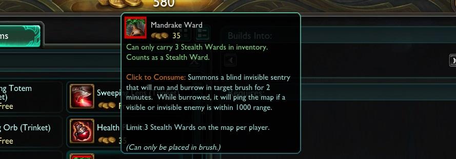Mandrake-Ward
