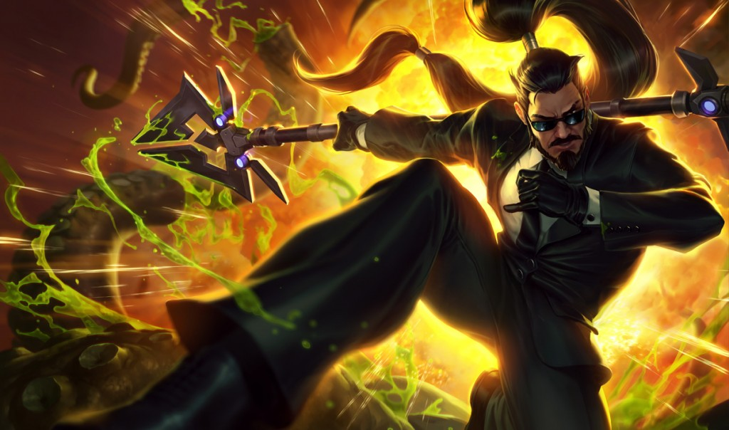 Secret Agent Xin Zhao-Splash