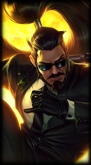 Splash Secret Agent Xin Zhao