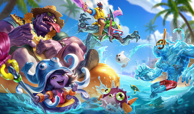 Splash Art das Skins Pool Party-1