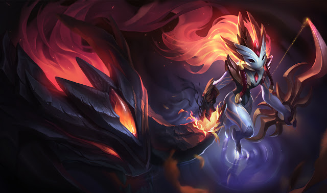 Splash Art da Shadowfire Kindred