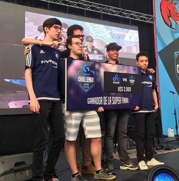 CNB Infinity, antigo time de Marf vencendo o Logitech Challenge na Argentina