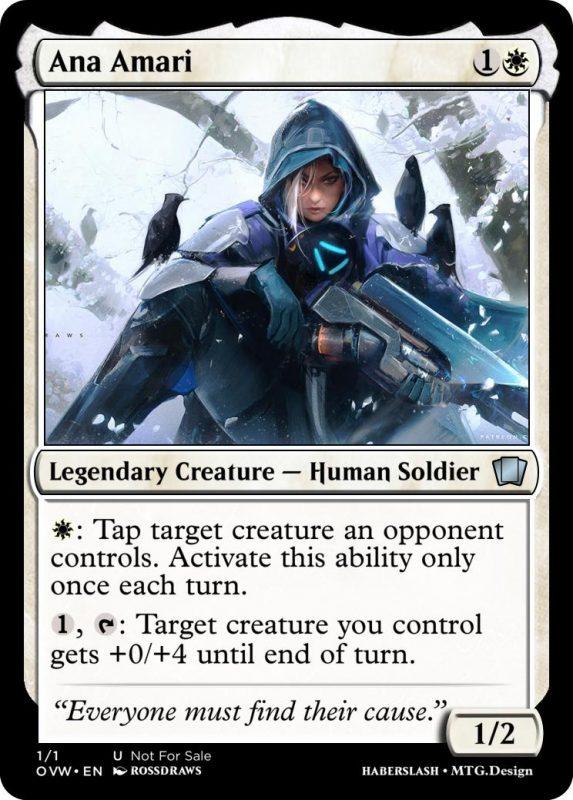 Overwatch Magic Ana