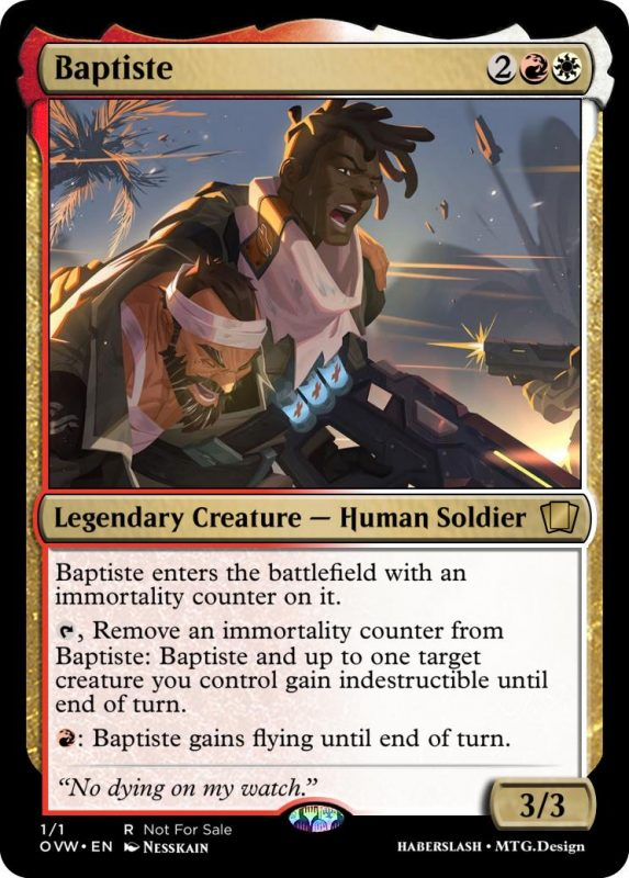 Overwatch Magic Baptiste