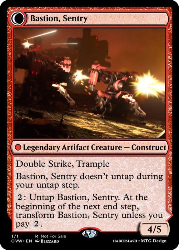 Overwatch Magic Bastion Sentry