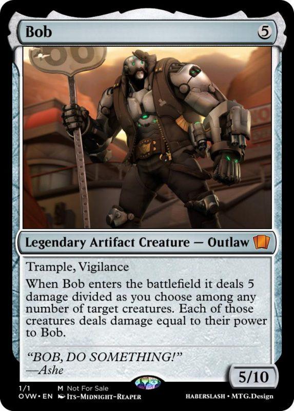 Overwatch Magic Bob