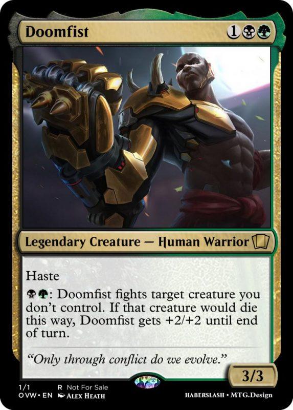 Overwatch Magic Doomfist