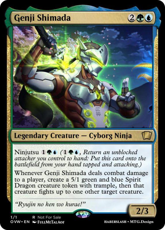 Overwatch Magic Genji