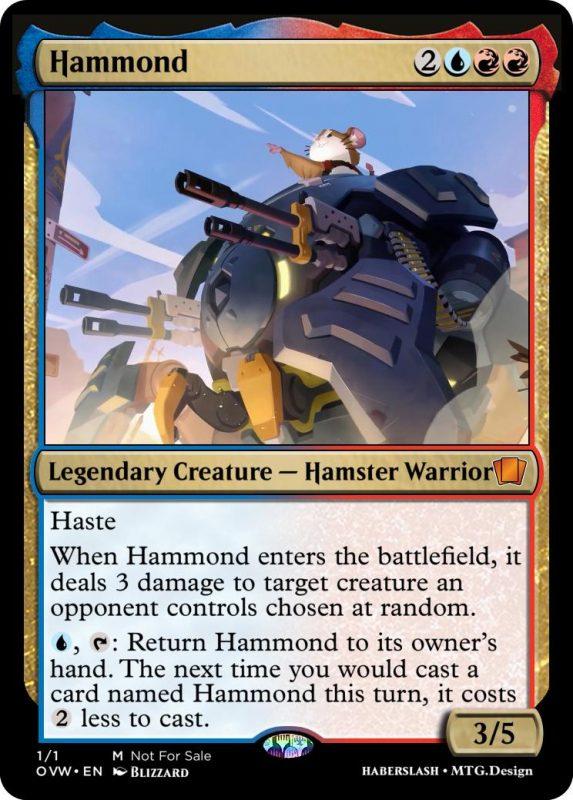 Overwatch Magic Hammond