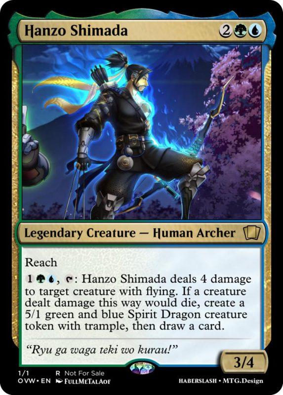 Overwatch Magic Hanzo