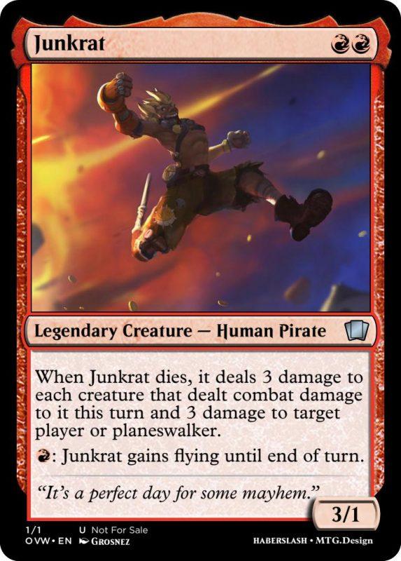 Overwatch Magic Junkrat