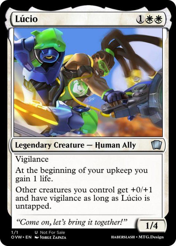 Overwatch Magic Lucio