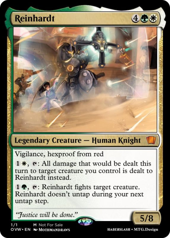 Overwatch Magic Reinhardt