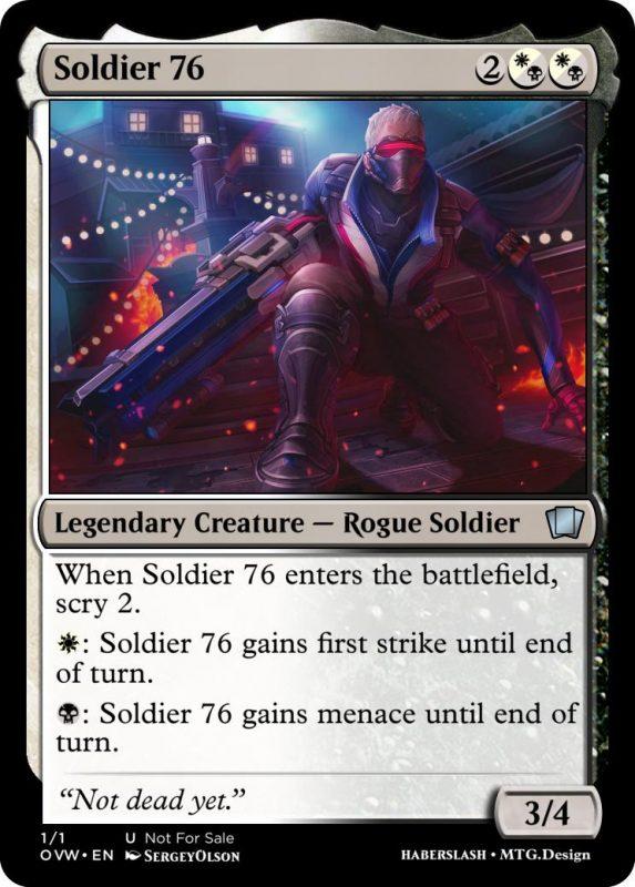 Overwatch Magic Soldier 76