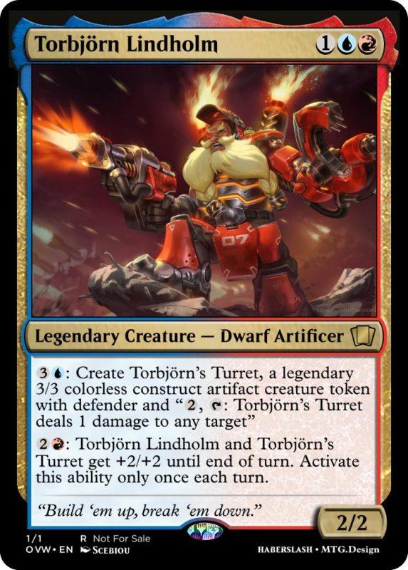 Overwatch Magic Torbjorn