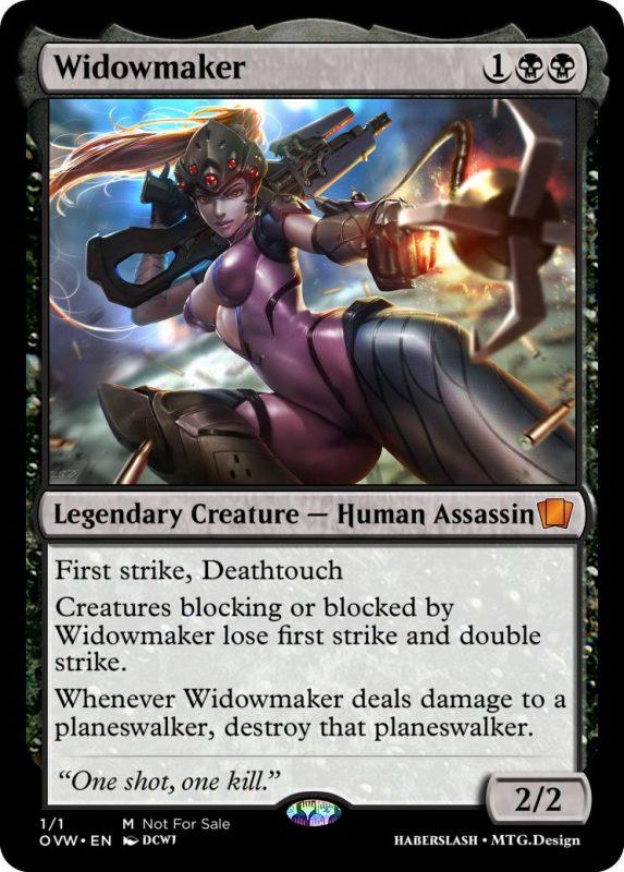 Overwatch Magic Widowmaker