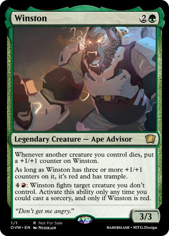 Overwatch Magic Winston