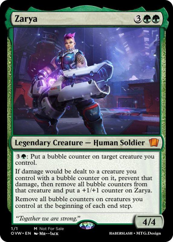 Overwatch Magic Zarya