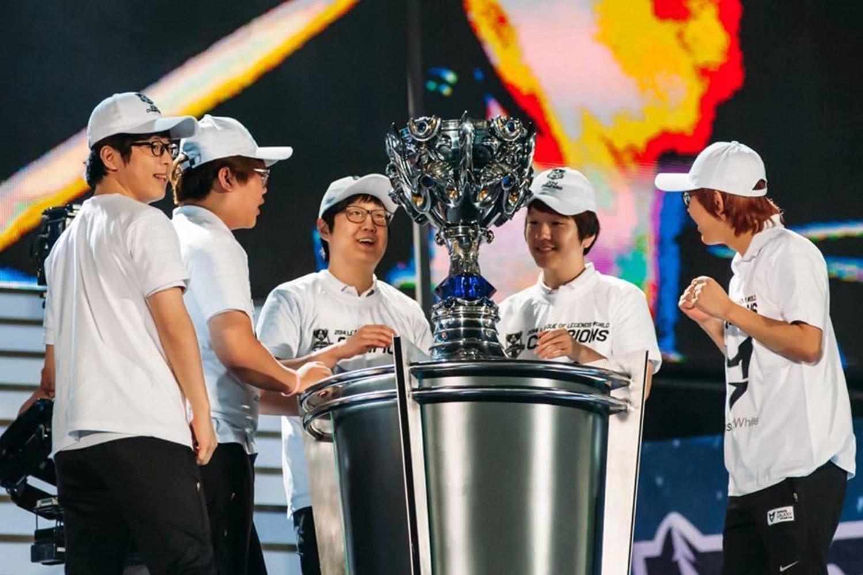 Mundial League of Legends LoL 2014 Samsung White