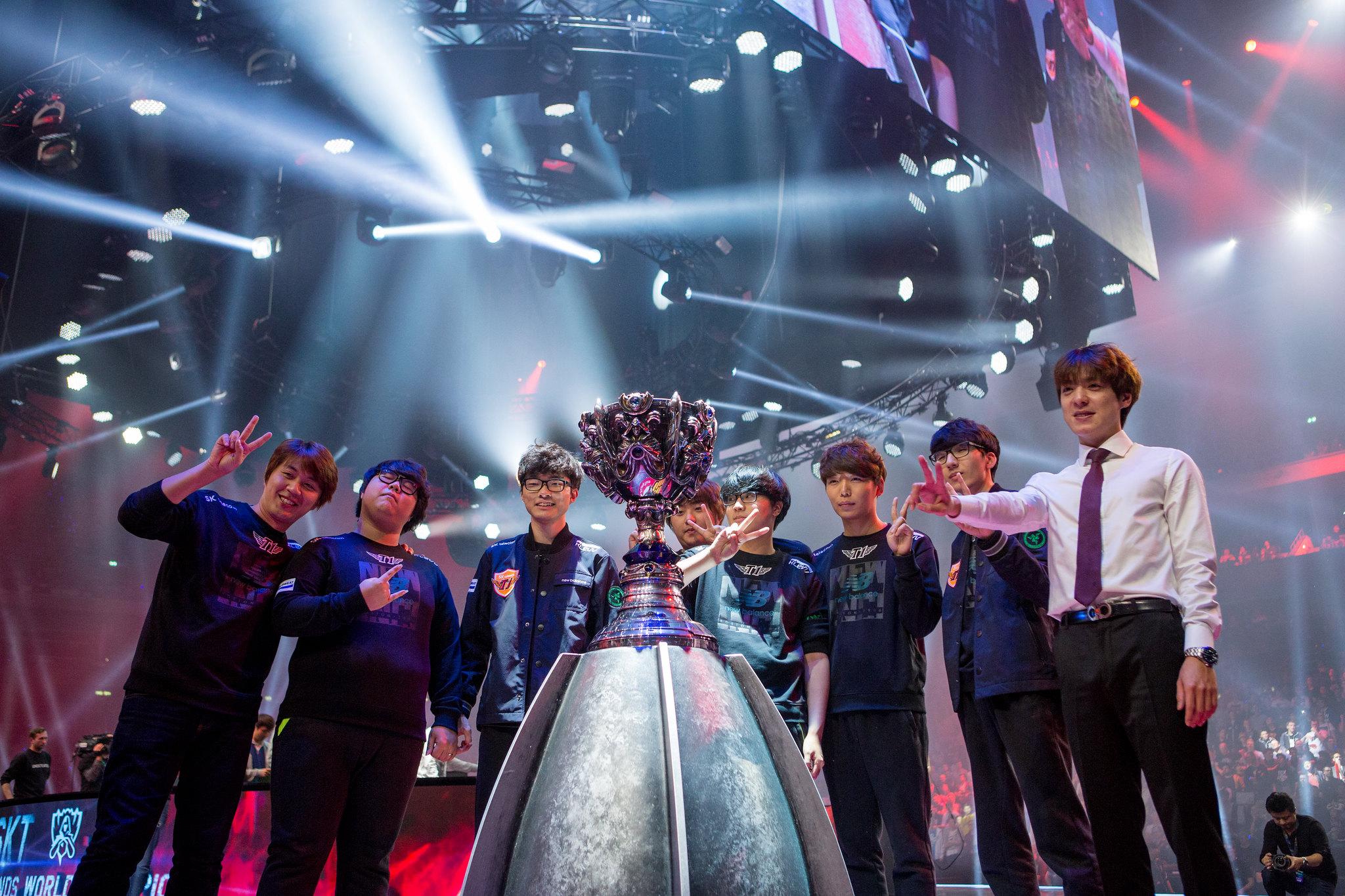 Mundial League of Legends LoL 2015 SK Telecom T1