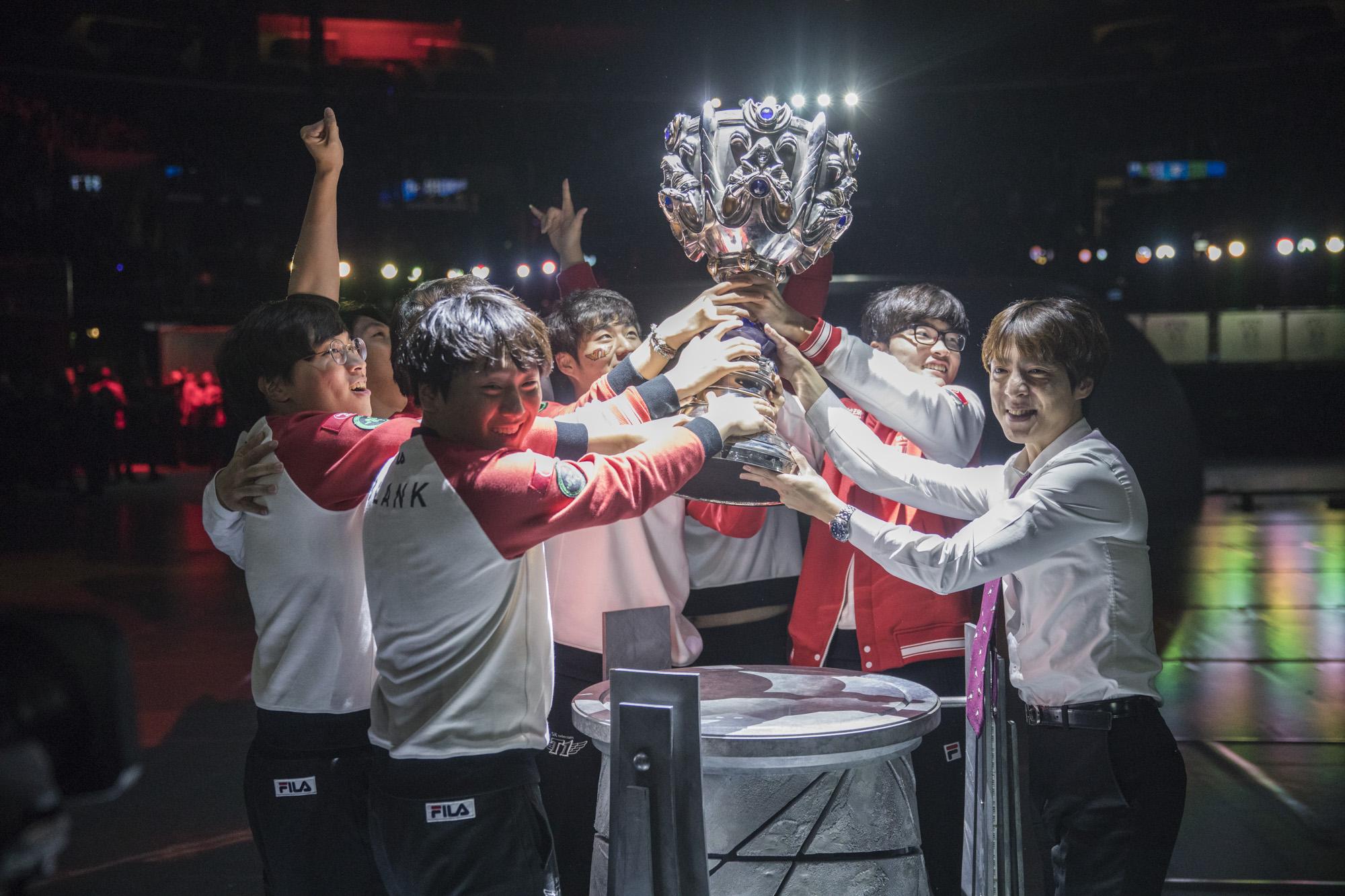 Mundial League of Legends LoL 2017 SK Telecom