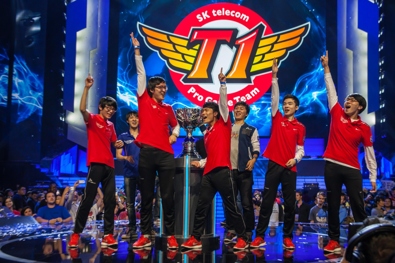 Mundial League of Legends LoL 2013 SK Telecom