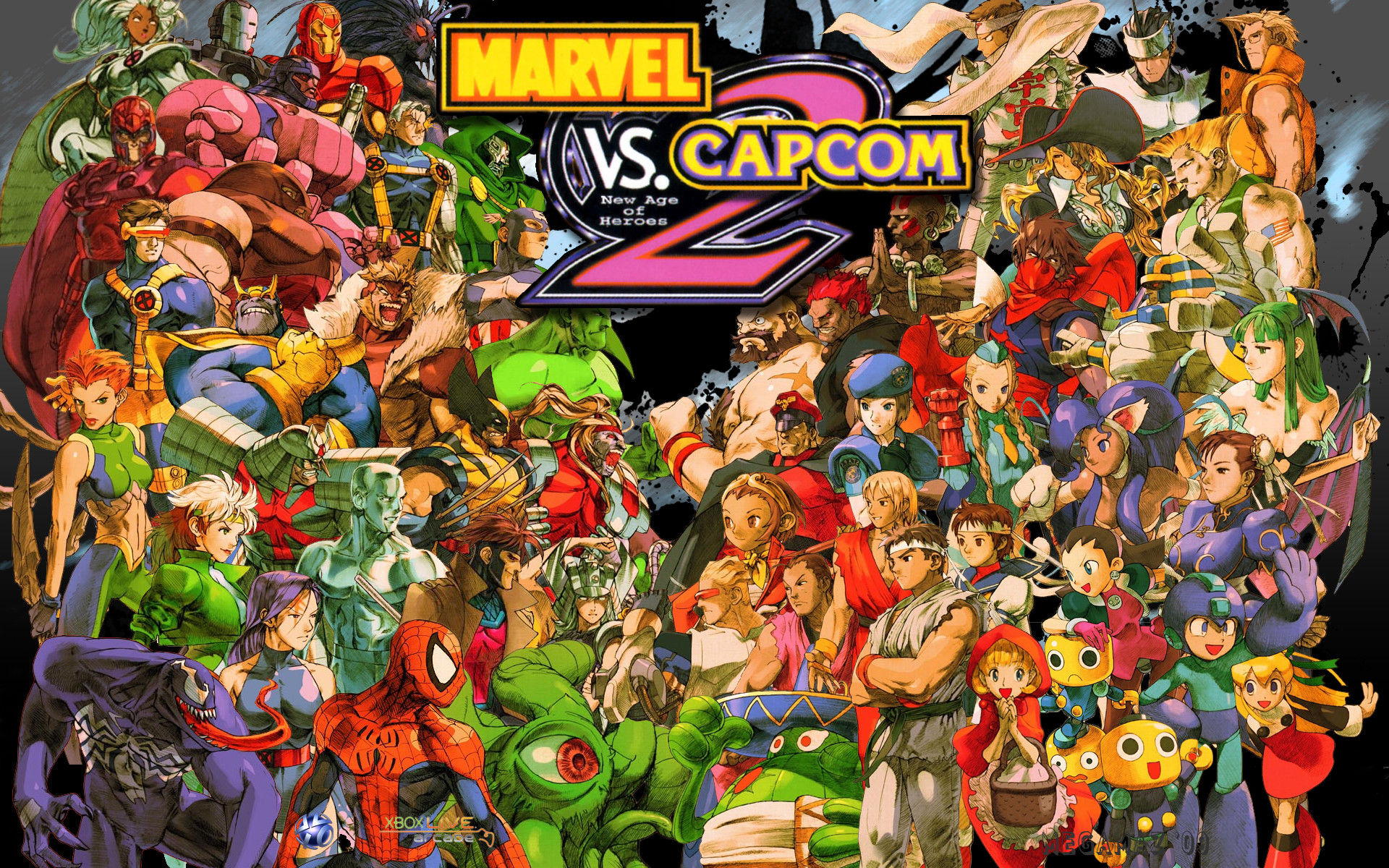 Image result for marvel vs capcom 2""