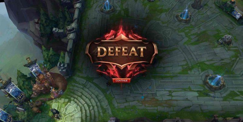 Defeat - Remake