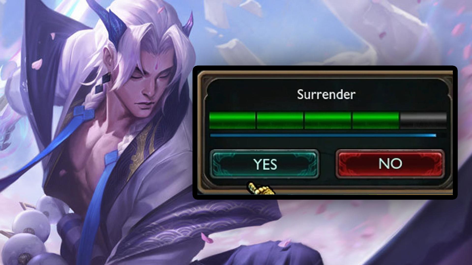 LoL Surrender