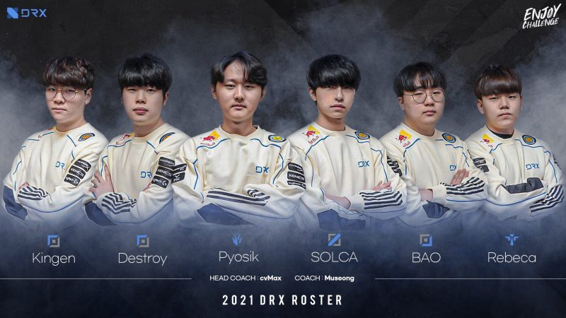 DRX Line-up