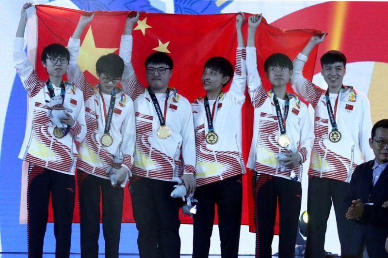 China jogos asiáticos lol