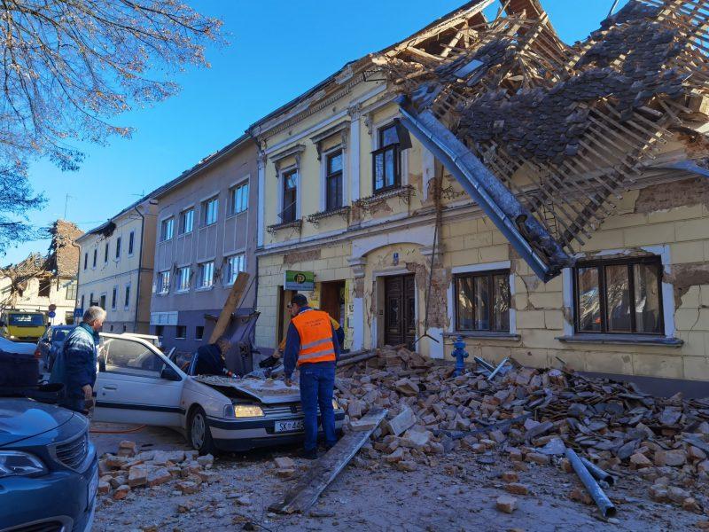 Terremoto croácia