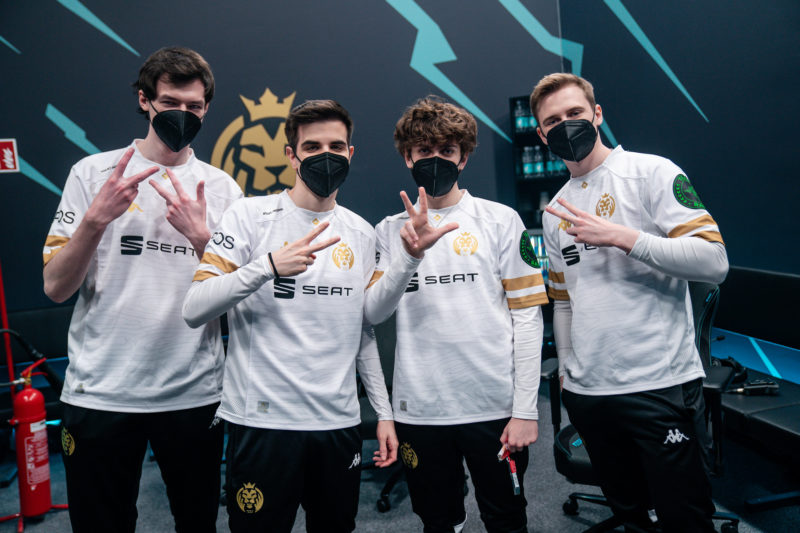 MAD Lions quarteto