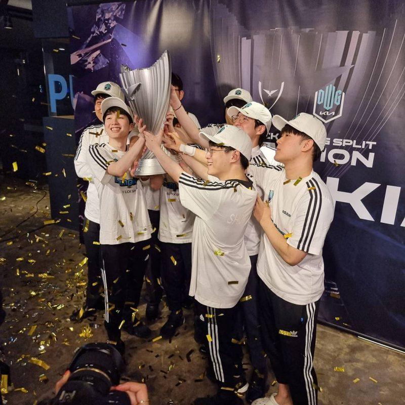 damwon campeã LCK 2021