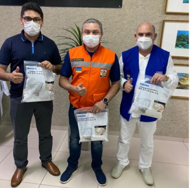 devesa civil amapá - doações baiano