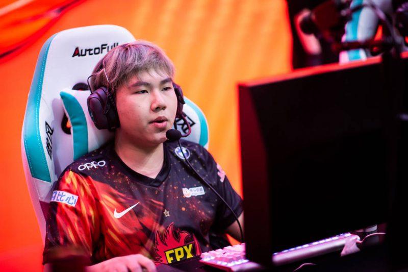 Imagem para ilustrar o jogador Bo, da FPX