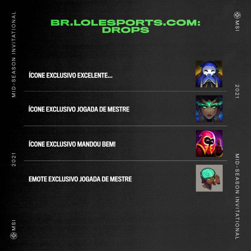 icones recompensa msi 2021