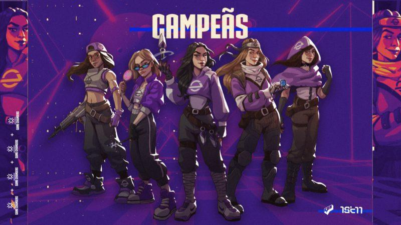 Gamelanders Purple campeã