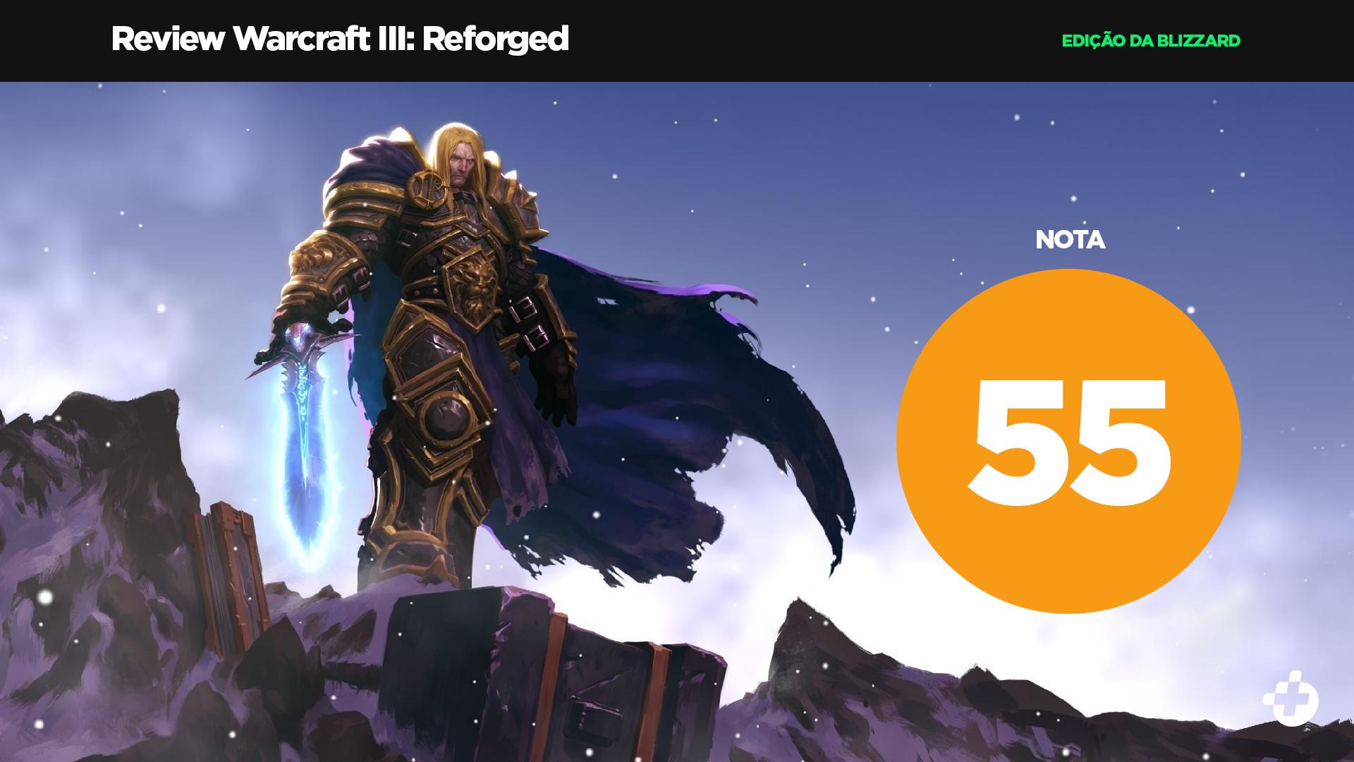 Warcraft 3 Nota Blizzard