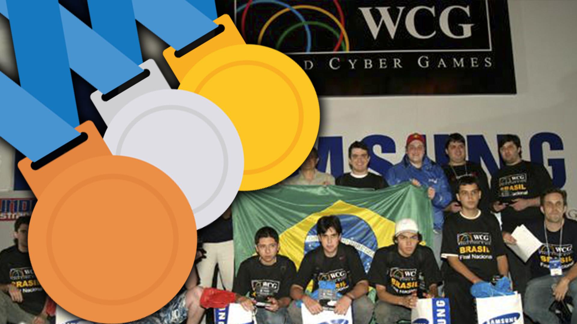 Medalhas Games Brasil na WCG