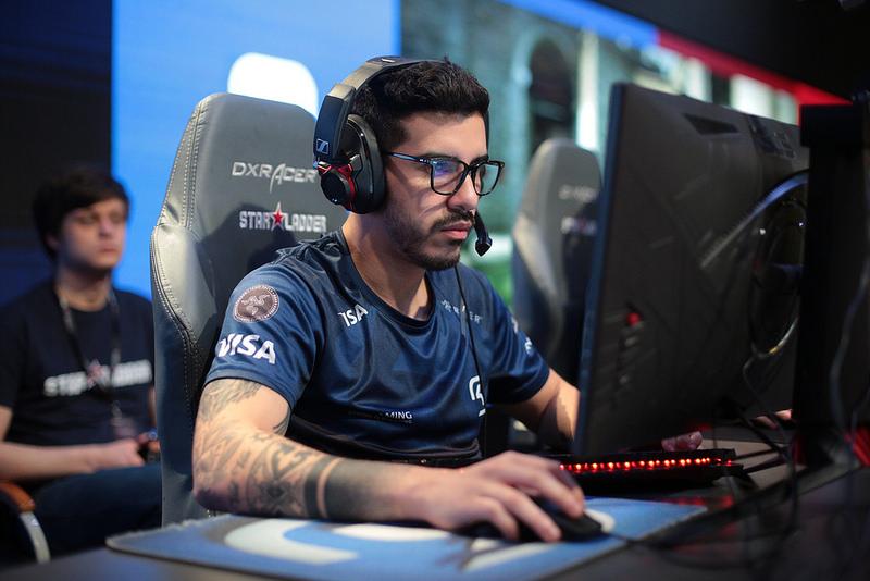 Foto de coldzera, eleito melhor jogador do mundo de CS:GO em dois anos